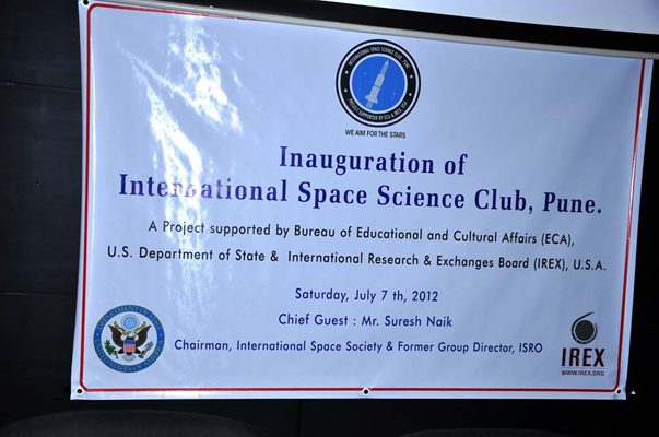 Inaugration of International Space Science Club